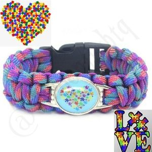 NEW! Autism Awareness Paracord Bracelets g ge
